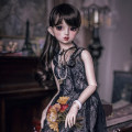 BJD doll zone Dress 1/3 Over 14 years old Customized Main drawing lace skirt (prepayment), special size, final payment (about 120 days) 3 points, SD10 / 13, sdgr, MSD / RL, 16 female, 4 points, 2 points, other sizes Yuyu sauce Beaded Black Lace Skirt