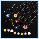 Necklace other RMB 1.00-9.99 Pinlin Red flowers, pink flowers, yellow flowers, blue flowers, purple flowers, green flowers