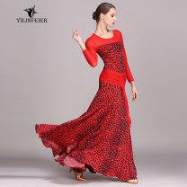 Modern dance suit (including performance clothes) Elaine freer Waltz, tango, Foxtrot, trot female S,M,L,XL,XXL other