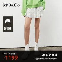 Casual pants This is white XS/155 S/160 M/165 L/170 XL/175 Spring 2021 shorts Straight pants High waist street routine 25-29 years old MBA1SOT016 MO & Co. / Moco Polyester fiber 36.2% viscose fiber (viscose fiber) 30.7% polyacrylonitrile fiber (acrylic fiber) 11.5% cotton 11.4% others 10.2%