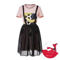 skirt Spring 2020 S,M,L,XL Black + Black two-piece set, black one-piece strap skirt without strap