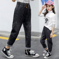trousers Other / other female No season trousers Korean version There are models in the real shooting Jeans Leather belt middle-waisted Denim Don't open the crotch Other 100% Class B Jeans Five, six, seven, eight, nine, ten, eleven, twelve Chinese Mainland Zhejiang Province Huzhou City