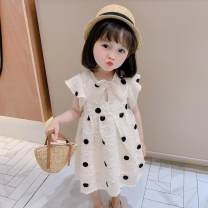 Quick drying pants children thirty-six Under 50 yuan Tagkita / she and others Picture color [black dot skirt], Hanfu skirt