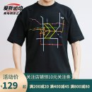 Sports T-shirt Converse / converse S. M, l, XL, XXL (adult) Short sleeve male Crew neck 10020851-A01 Black 10020851-a02, white 10020851-a01 routine Moisture absorption, perspiration and ventilation Summer 2020 Brand logo Sports & Leisure Sports life other