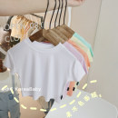 T-shirt Simple white, honey orange, versatile black, refreshing green, light purple, cream yellow, simple white pre-sale, honey orange pre-sale, versatile black pre-sale, light purple pre-sale, cream yellow pre-sale, refreshing green pre-sale Other / other 73cm,80cm,90cm,100cm,110cm,120cm,130cm T029