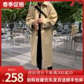 Windbreaker Camel, black Han Zhu Youth fashion S suggests less than 110 kg, m suggests 110-125 kg, l suggests 125-140 kg, XL suggests 140-150 kg, 2XL suggests 150-165 kg, 3XL suggests more than 165 kg Single breasted have more cash than can be accounted for standard Other leisure autumn youth Lapel