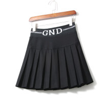 skirt Spring 2021 M,L,XL Short skirt Versatile High waist Pleated skirt Solid color Type A 25-29 years old 91% (inclusive) - 95% (inclusive) other LEEYABEAUTY cotton Pleating, folding, stitching 351g / m ^ 2 (including) - 400g / m ^ 2 (including)