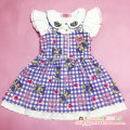 Dress violet Other / other female 110cm 120cm 130cm Cotton 100% Cartoon animation cotton