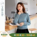 Wool knitwear Autumn of 2019 M L XL XXL Blue lake Long sleeves singleton  Socket acrylic fibres More than 95% Regular routine commute Straight cylinder High collar routine Solid color Korean version 25-29 years old Aloistine Gouhua hollow Polyacrylonitrile fiber (acrylic fiber) 100%