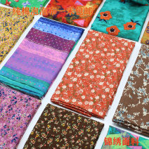Fabric / fabric / handmade DIY fabric cotton Loose shear piece Plants and flowers printing and dyeing clothing Countryside 81% (inclusive) - 90% (inclusive)