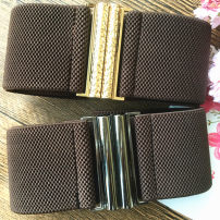 Belt / belt / chain cloth female belt Simplicity Single loop a hook Glossy surface Glossy surface 6cm alloy