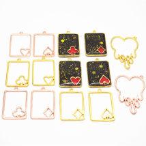 Other DIY accessories Other accessories other 0.01-0.99 yuan Jk164 spade jk165 heart jk166 plum jk167 square jk168