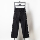 Casual pants Others Youth fashion black S,M,L,XL routine trousers Other leisure Straight cylinder Micro bomb Four seasons youth tide 2020 middle-waisted Straight cylinder Sports pants other