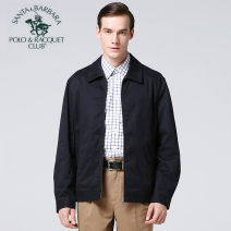 Jacket SANTA BARBARA POLO & racket club / St. Paul Business gentleman easy Other leisure autumn Cotton 100% Long sleeves Wear out Business Casual Spring 2015