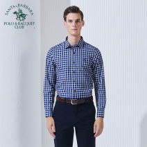 shirt Business gentleman SANTA BARBARA POLO & racket club / St. Paul 38 39 40 41 42 43 44 J7 P7 W5 routine Pointed collar (regular) Long sleeves Self cultivation Other leisure PW15WH062 Cotton 83.8% wool 16.2% Business Casual Summer of 2018
