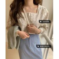 Fashion suit Summer of 2019 Average size Top, skirt s, Skirt M Other / other 30% and below