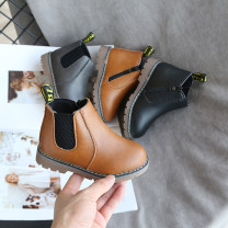 Boots / snow boots Artificial leather Female, male, neutral Other / other Ox tendon spring and autumn Martin boots Low boots Flat bottom Side zipper Sewing children