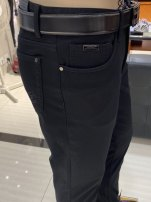 Casual pants Joeone / nine shepherds Fashion City thick trousers Other leisure Self cultivation Micro bomb winter 2020 middle-waisted Straight cylinder No iron treatment Solid color plain cloth cotton cotton Domestic famous brands 70% (inclusive) - 79% (inclusive)