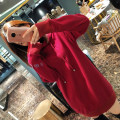 Sweater / sweater Fall of 2018 Red Purple Black S M L XL Lierkiss 84WY6A37