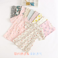 Dress Rabbit grey, tree beige, flower green, white squirrel, white cat, smiling face yellow, cake pink, [vest] ice cream pink, [vest] rabbit grey, [vest] Rabbit Pink, [vest] tree beige, [vest] flower green, [vest] white squirrel female Other / other Cotton 100% summer Skirt / vest cotton other