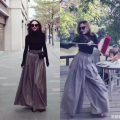 Casual pants S,M,L,XL Spring of 2019 trousers Wide leg pants High waist commute routine 25-29 years old 31% (inclusive) - 50% (inclusive) other Ol style