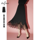 skirt Summer 2021 155/60A/S 160/64A/M 165/68A/L 170/72A/XL Black spot black pre-sale black pre-sale 1 Mid length dress grace High waist A-line skirt Solid color Type A 25-29 years old 1BC940631 More than 95% Eifni / Evely polyester fiber zipper Polyester 100%