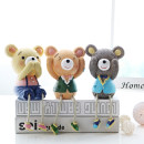 Ornaments Resin animal other Camel dark brown Love home