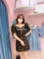 skirt Spring 2021 M Black, yellow, pink