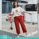 Women's large Summer 2021 Army green, brick red Large XL, 2XL, 3XL, 4XL, 5XL, 6xl Two piece set commute Self cultivation moderate Short sleeve letter Korean version Crew neck other Three dimensional cutting QLXQF1031LPW Delicate and beautiful 25-29 years old Ninth pants