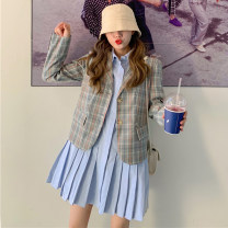 Fashion suit Autumn of 2019 Average size Suit, coat, dress 18-25 years old Other / other 51% (inclusive) - 70% (inclusive)
