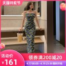 Dress / evening wear Adulthood party performance daily date S M L violet fashion Medium length High waist Summer 2021 Self cultivation Sling type zipper spandex 26-35 years old L 3878 Sleeveless flower Decor nanoampere  other Polyester fiber 93.7% polyurethane elastic fiber (spandex) 6.3% other