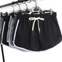 Casual pants Black Wide Leg light grey wide leg M L XL 2XL 3XL Summer 2017 Wide leg pants Natural waist Versatile Thin money 17DK01 Mi Lane Collage