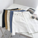 skirt Summer 2021 S,M,L Blue, white, black, apricot, yellowish brown Short skirt commute High waist Solid color Type A 18-24 years old 51% (inclusive) - 70% (inclusive) Korean version