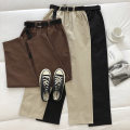 Casual pants Black, apricot, brown M, L Spring 2021 trousers Haren pants High waist commute routine 18-24 years old 51% (inclusive) - 70% (inclusive) Korean version pocket