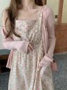 Dress Summer 2021 Pink Average size Mid length dress singleton  Sleeveless commute Crew neck Decor Type H Korean version zipper