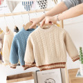 Sweater / sweater cotton neutral Other / other Korean version No model Socket Plush Crew neck nothing Ordinary wool Solid color Class B 6 months, 12 months, 9 months, 18 months, 2 years, 3 years, 4 years Chinese Mainland