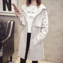 short coat Autumn 2020 S M L XL Long sleeves Medium length routine singleton  easy commute routine Hood zipper Solid color 25-29 years old Camry show 96% and above other Other 100% Pure e-commerce (online only)