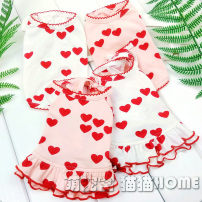 Pet clothing / raincoat currency Couples dress XXS: 2 kg, XS: 3 kg, s: 3-4 kg, M: 4-5 kg, l: 5-6 kg, XL: 7-8 kg, XXL: 8-10 kg, 3XL: 11-12 kg Other / other princess White skirt, pink skirt, white vest, pink vest pure cotton