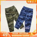 trousers middle-waisted Rubber belt Class A Gap male Two, three, four, five Sports pants trousers No model in real shooting 358926 spring and autumn Don't open the crotch leisure time Cotton 100% 358926 Pure cotton (100% content) Blue camouflage, green camouflage