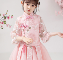 suit Other / other 110cm,120cm,130cm,140cm,150cm,160cm female winter Chinese style routine Broken flowers polyester fiber other Other 100% 7, 8, 3, 6, 2, 11, 5, 4, 10, 9, 12 Chinese Mainland