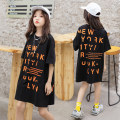 T-shirt Other / other female summer Short sleeve Crew neck Korean version There are models in the real shooting nothing cotton other Cotton 80% polyester 20% 123 net supply & 20227 T-shirt skirt Class B Sweat absorption 4, 5, 6, 7, 8, 9, 10, 11, 12, 13, 14, 14 and above Chinese Mainland Huzhou City