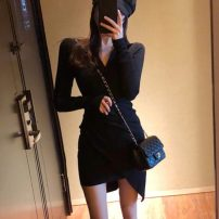 Dress Autumn 2020 Black, pink, orange Average size