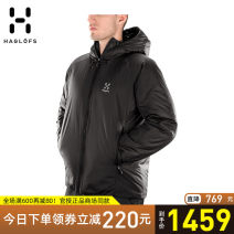 Warm cotton clothes HAGLOFS male Over 2000 yuan S M L XL XXL Waterproof, windproof, UV proof, breathable, wearable, warm and other Fall 2017 routine China polyester fiber polyester fiber other polyester fiber Urban outdoor yes