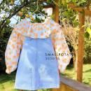Dress Orange shirt, denim skirt female Other / other 80cm,90cm,100cm,110cm,120cm Cotton 100% 12 months, 9 months, 2 years, 3 years, 4 years, 5 years