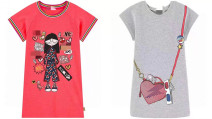 Dress female Other / other Cotton 100% summer leisure time Cartoon animation cotton other 7, 8, 14, 3, 6, 13, 11, 5, 4, 10, 9, 12 Chinese Mainland