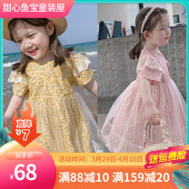 Dress Yellow, purple, pink female Other / other 90cm,100cm,110cm,120cm,130cm,140cm Polyethylene terephthalate (polyester) 100% summer princess Short sleeve Broken flowers Pure cotton (100% cotton content) other Class B 7, 8, 3, 6, 2, 11, 5, 4, 10, 9, 12 Chinese Mainland
