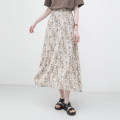 skirt Summer 2021 Average size Dark, light Mid length dress commute High waist A-line skirt Broken flowers Type A 931ec More than 95% other Other / other polyester fiber printing Korean version 201g / m ^ 2 (including) - 250G / m ^ 2 (including)