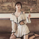 one piece  Rong Lang Si XL,L,M Off white With chest pad without steel support other female Long sleeves Casual swimsuit other
