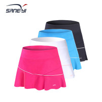 Sports skirt 32eSANERYI female XS (adult), s (adult), m (adult), l (adult), XL (adult), XXL (adult), XXXL (adult) Spring 2021 Tennis Moisture absorption, perspiration, quick drying, super light, breathable Women's tennis polyester fiber