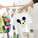 T-shirt Other / other 90cm,100cm,110cm,120cm,130cm,140cm male summer Short sleeve Crew neck leisure time No model nothing Cartoon animation 12 months, 18 months, 2 years old, 3 years old, 4 years old, 5 years old, 6 years old, 7 years old Chinese Mainland